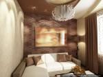 Гостевая спальня. Дизайн интерьеров коттеджа