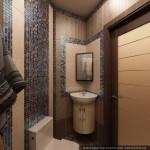Дизайн квартиры в современном стиле. Интерьер сан.узла