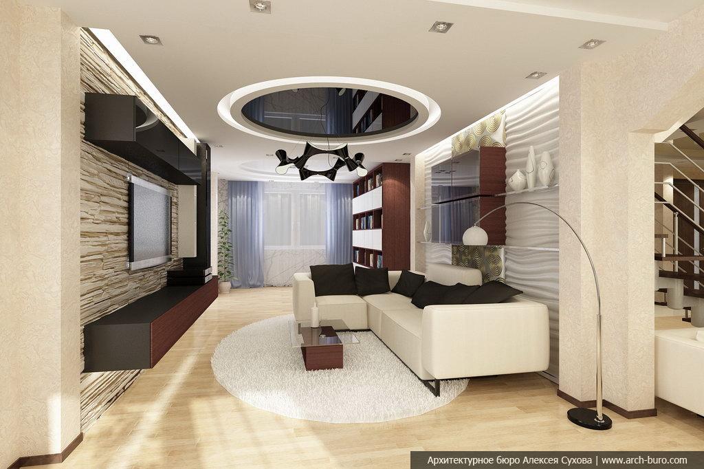 Интерьеры гостинных комнат | 447 фотографий