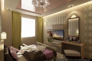 Услуги дизайнера квартир. Дизайн спальни родителей