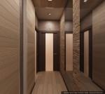 Интерьер вынной комнаты и сан узла