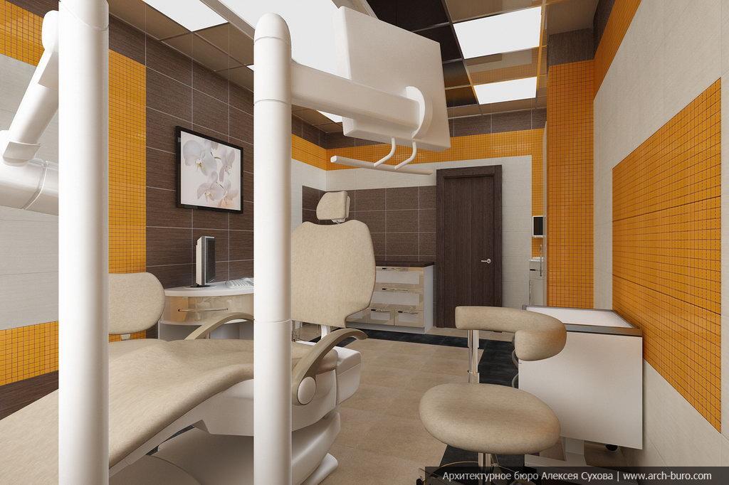 Дизайн та интерьер стоматологических кабинетов фото