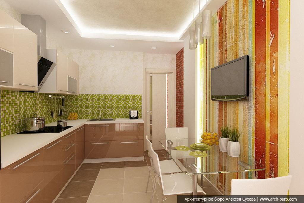 Дизайн кухни для ленинградки фото.