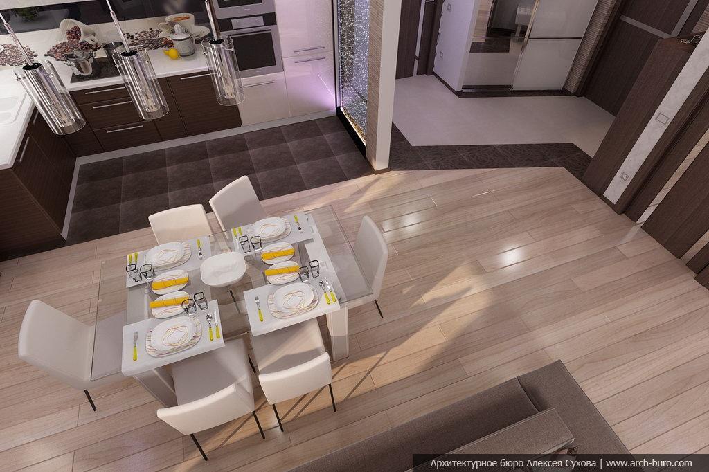 Дизайн интерьера в современном стиле прихожей