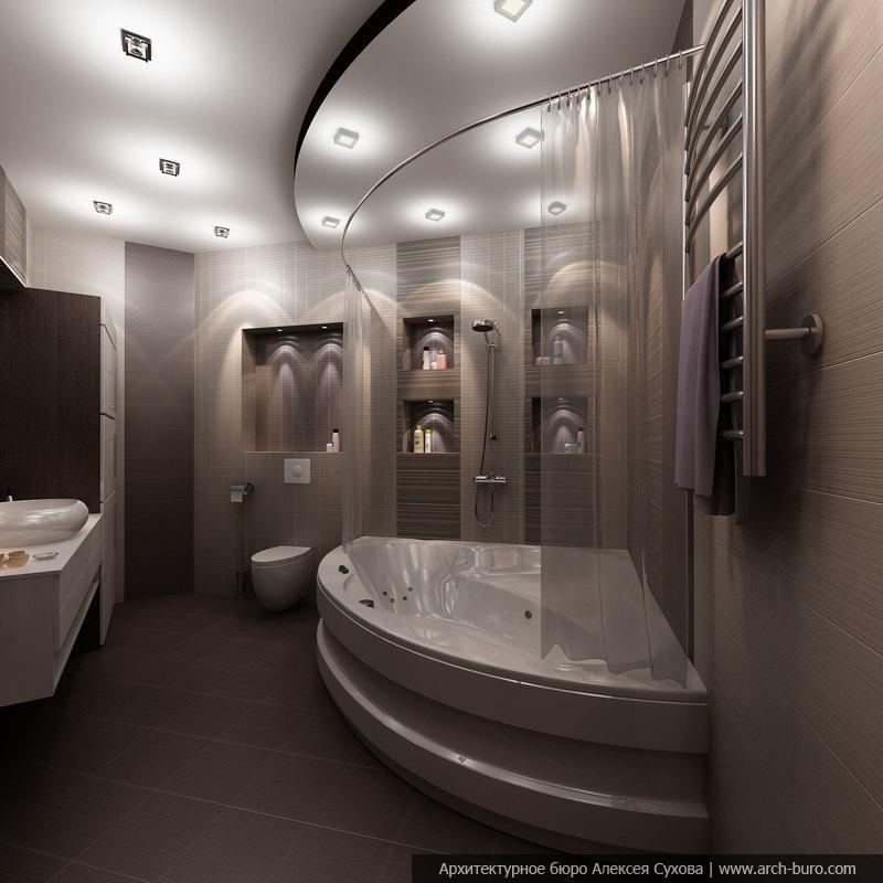 Интерьер ванной комнаты  2013