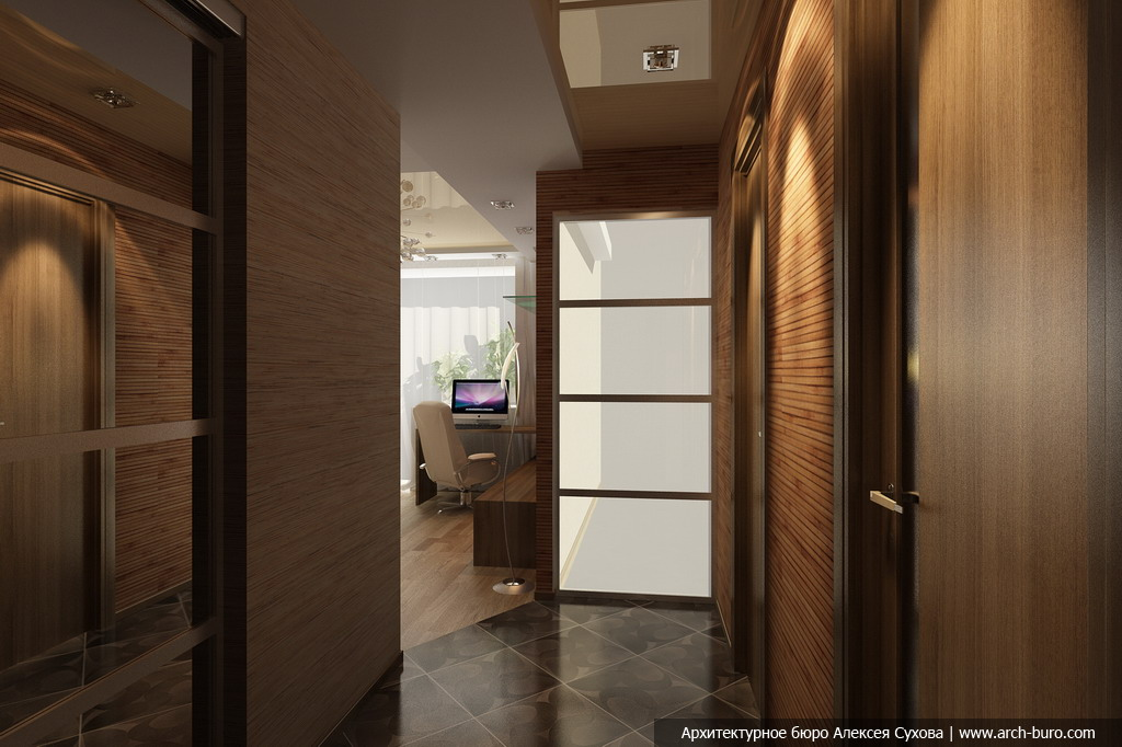 Дизайн прихожей однокомнатной квартиры