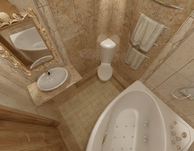 Ванная комната классика фото
