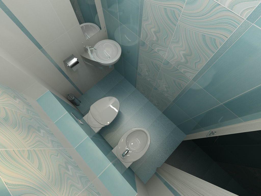 Дизайн маленькой ванной комнаты из пластика