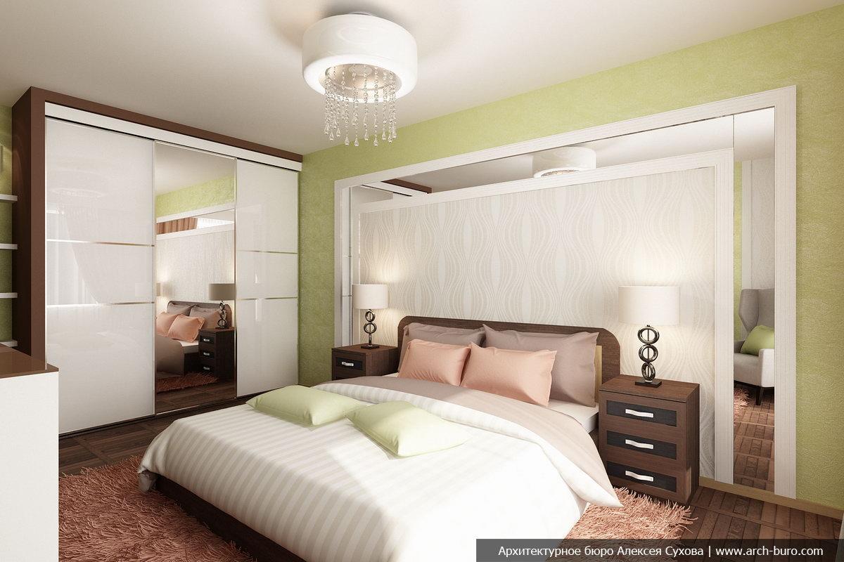 Современная спальня дизайн фото 15 кв.м