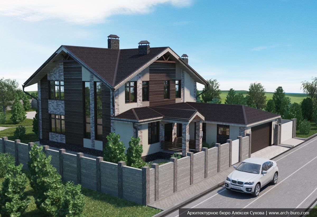 Дизайн проекты домов в уфе