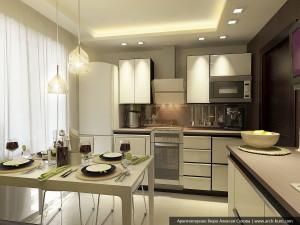 Квартира в Заречном. Дизайн кухни и прихожей