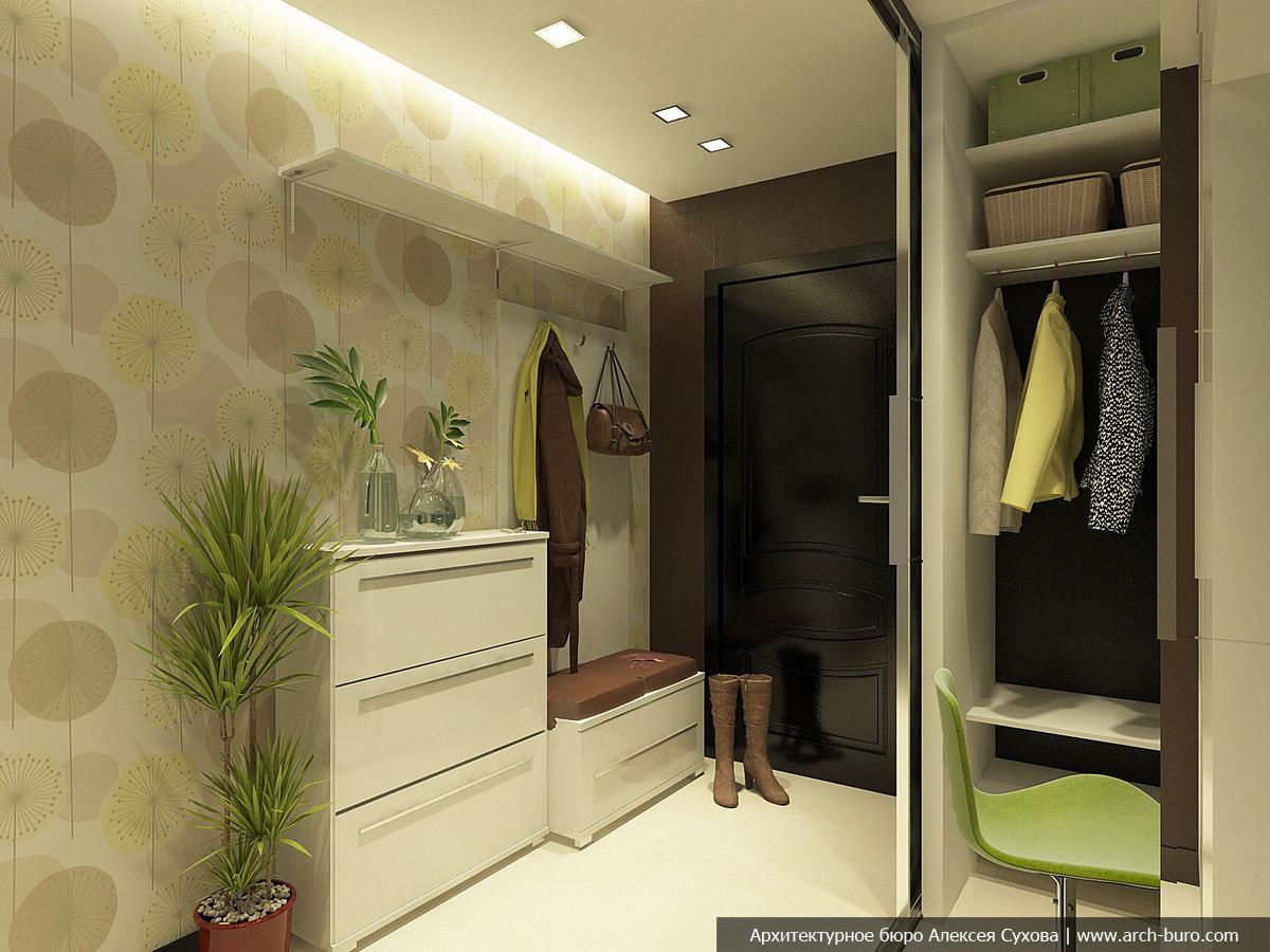 Дизайн прихожей 9 кв.м в панельном доме