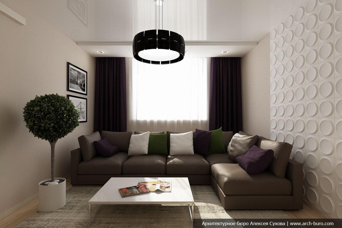 Этот дизайн проект интерьера квартиры