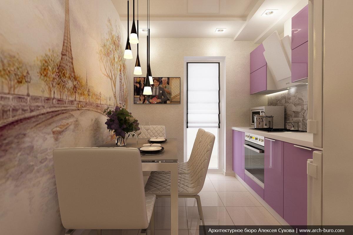 Дизайн проект квартиры в пригороде
