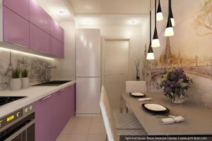 Кухня в типовой квартире