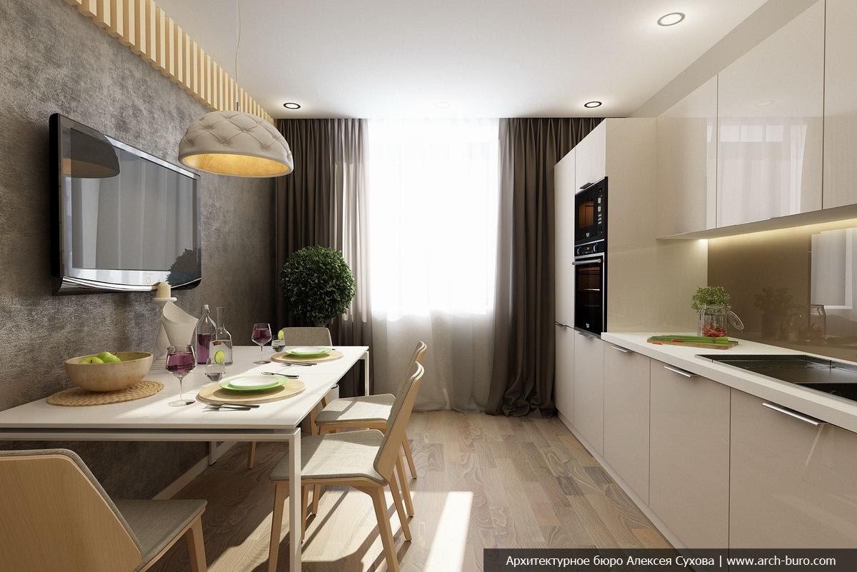 Кухня 9кв дизайн