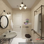 Как обустроить ванную комнату в элитном доме