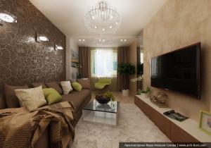Квартира в Академическом. Дизайн интерьера квартиры