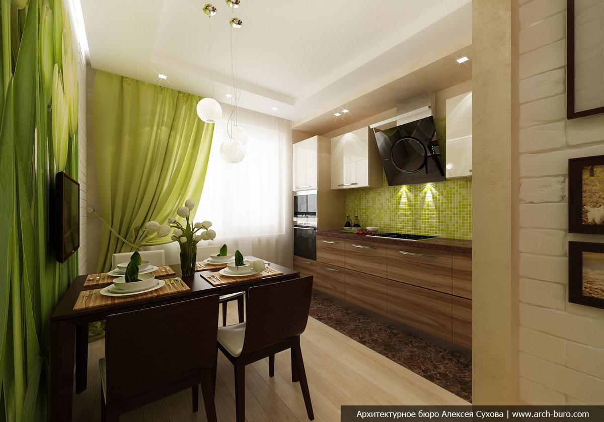 Дизайн кухни 12 кв. м. фото новинки с диваном, с барной стой.
