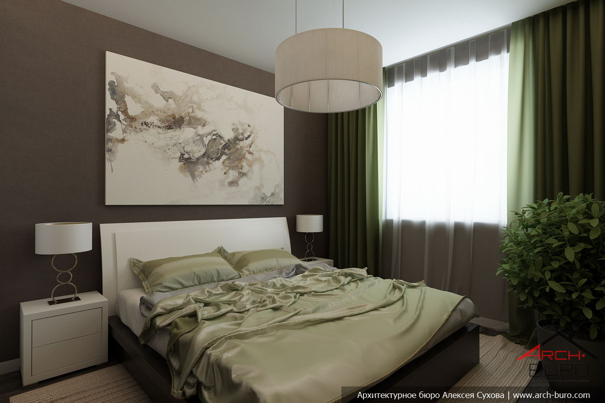 Интерьер спальни 11 кв.м фото в панельном доме