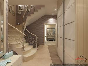 Прихожая и холл, дизайн проект