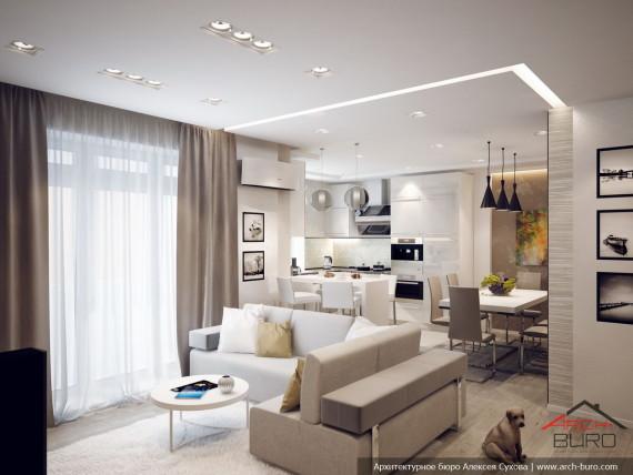 Дизайн квартиры в городе Сургут