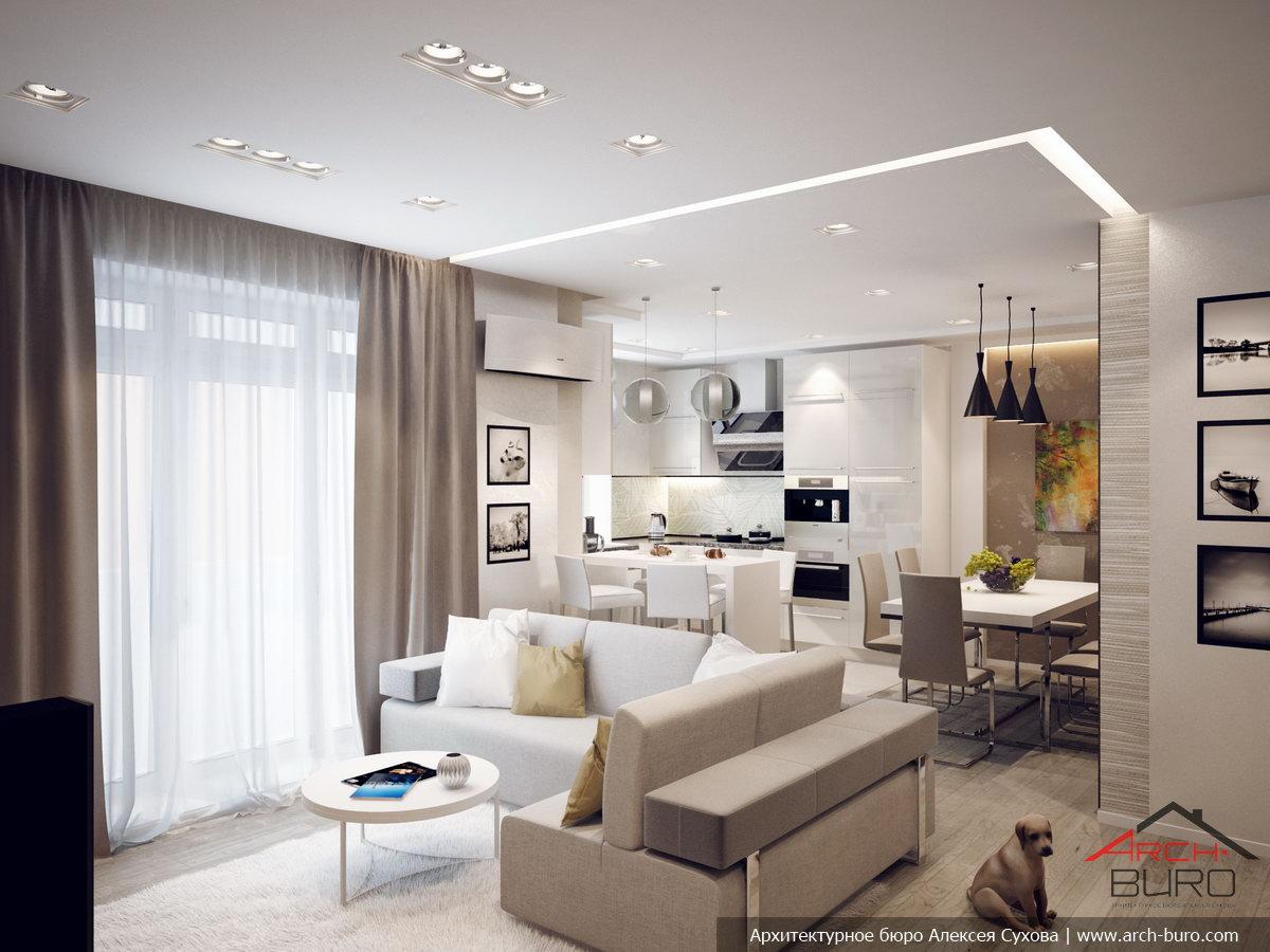 Дизайн интерьера проект квартиры