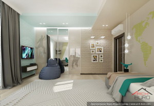 Санкт-Петербург. Дизайн комнаты мальчика