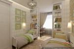 Квартира в г.Якутск детская спальня двух дочерей (2)
