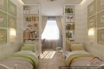 Квартира в г.Якутск детская спальня двух дочерей (3)