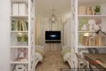 Квартира в г.Якутск детская спальня двух дочерей (5)