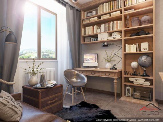 Дизайн квартиры в Армении. г. Ереван. Спальня сына