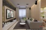 дизайн кухни-гостиной в Якутии (1)