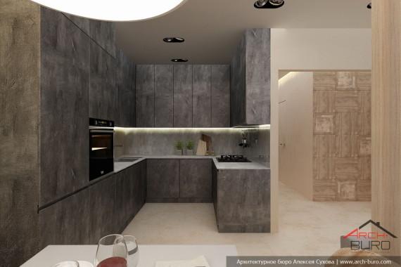 Дизайн кухни в Якутии