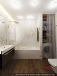 Дизайн интерьера ванной комнаты. Ереван