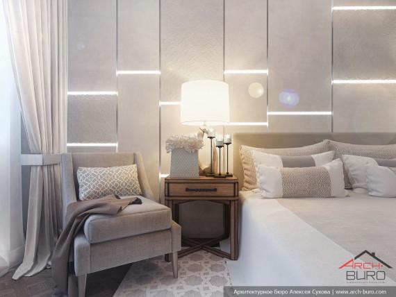 Дизайн спальни. Ереван